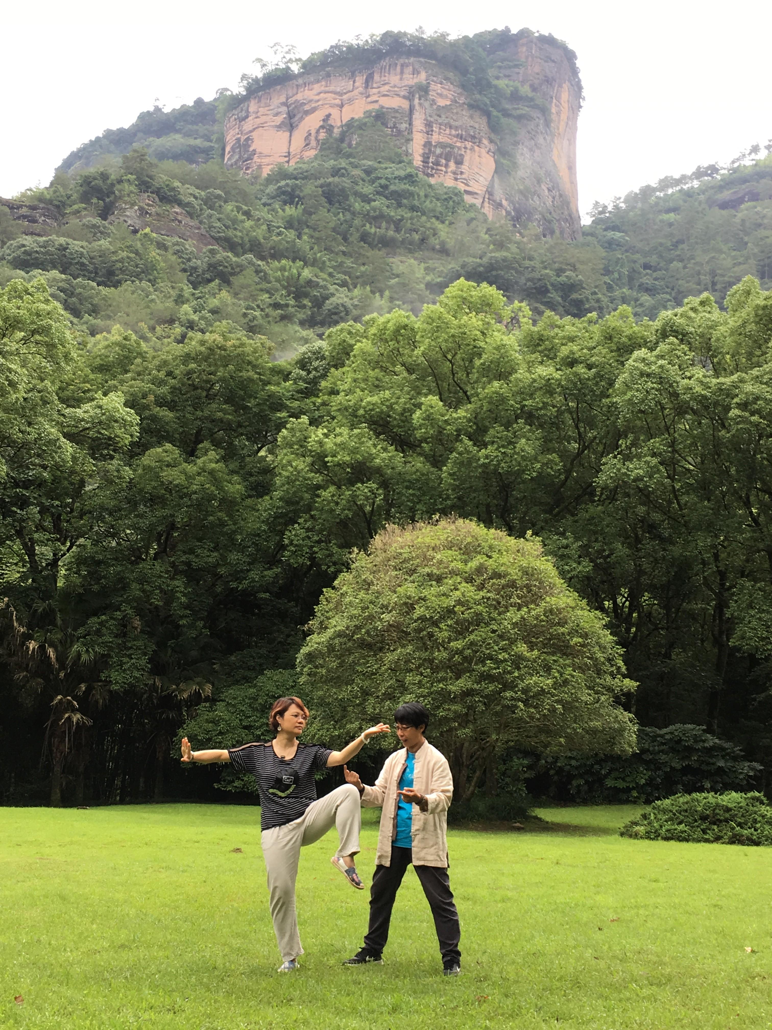 The 2017 GuolinxinQigong Wuyishan English Camp | Yang-Sheng com