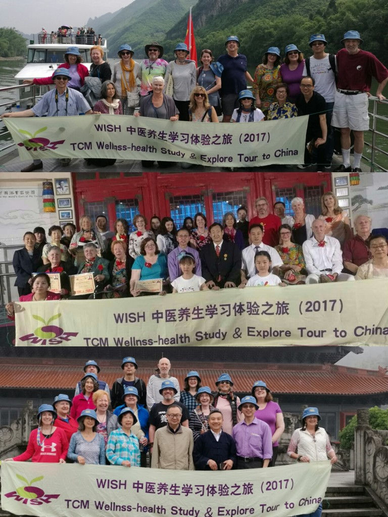 Group photos from the 1st Wellness Tour