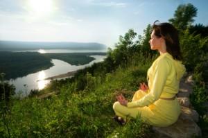 meditation on the mountain