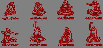 Daoyin-exercise-diagram