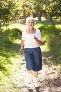 Elderly-woman-jog-in-park