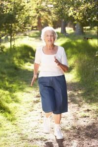 Elderly-woman-jog-in-park
