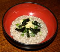 perilla seed congee 1